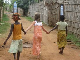 village girls and una